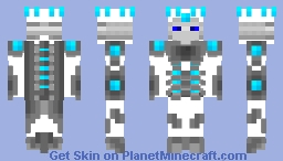 The Great King Tempest Minecraft Skin