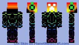Techo Creeper Minecraft Skin