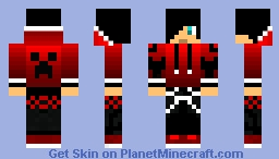Ruby boy Minecraft Skin