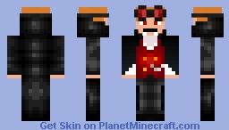 Vampire DanTDM Minecraft Skin