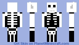 Wolf Skeleton Minecraft Skin