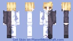 黑与白 Minecraft Skin