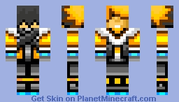 Anime boy Minecraft Skin