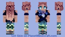 Cutesy Cute ~ For Footprints contest ~ Minecraft Skin