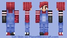 Hey I'm Back... Minecraft Skin