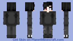 AtomStation Skin Request Winner | Crystallized Minecraft Skin