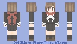 I'm stupid, you know. So it can't be helped Minecraft Skin
