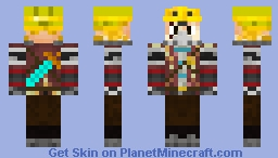 The Warrior Engineer Minecraft Skin