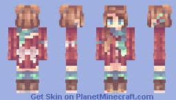 christmas personal Minecraft Skin