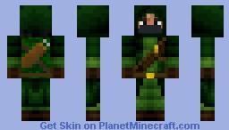 Archer Assassin Minecraft Skin