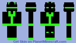 Soldier of the Future Minecraft Skin