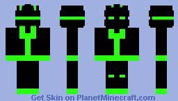 Soldier of the Future Minecraft Skin
