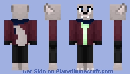 Kendall Fore (+ Human Alt.) - Unnatural Minecraft Skin