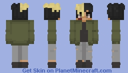 XXXTentacion - During The Fame Minecraft Skin