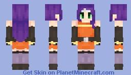 Mia ~ Fire Emblem ~ Radiant Dawn Minecraft Skin