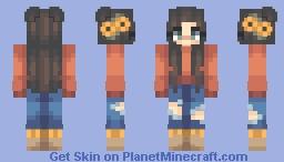 falling for autumn Minecraft Skin