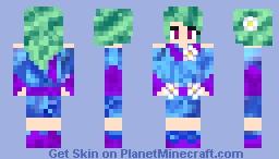 This Girl Rocks My Galaxy (GoldenGlider's Year Anniversary Present and Fanskin!!!) Minecraft Skin