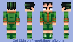 Gon Freecss | Hunter x Hunter Minecraft Skin