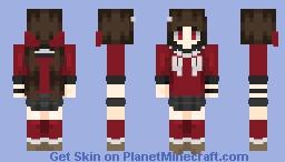 DRV3 Maki Harukawa Minecraft Skin