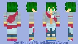 Midoriya Izuku Minecraft Skin