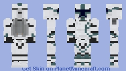 Phase 1 Jet Trooper - Requested by MatheusG0D104 Minecraft Skin