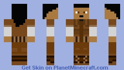Randy (Tomb Raider 3) Minecraft Skin