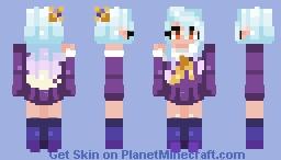 Shiro | Wowie, a Poppyreel  Minecraft Skin