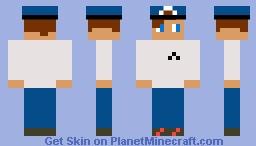 Police officer - Dab police Minecraft Skin