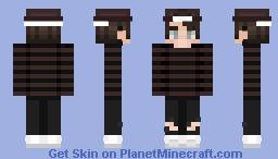 Black/Red (Old skin) Minecraft Skin
