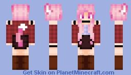 ❤ ѕρι¢є & ωσℓf Minecraft Skin