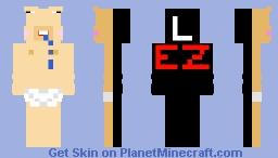 L EZ! / Noob Minecraft Skin