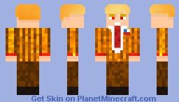 Spooky Trump Minecraft Skin