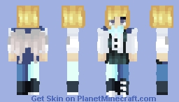 """✨ ℊℴℒⅆℰℕ ✨ """"Life should not only be lived, it should be celebrated"""" - Birthday gift for Oka - POPREEL Minecraft Skin"""