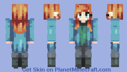 Beverly Crusher ~ Fanskin (First Popreel!) Minecraft Skin