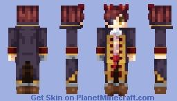 Foxy (Human) ~ Fnaf Minecraft Skin