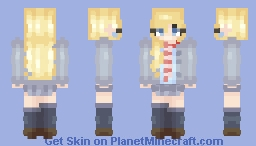 """✨ ℊℴℒⅆℰℕ ✨ """"Do you think it reached her?"""" - (+2 skins and art in the desc.) Minecraft Skin"""