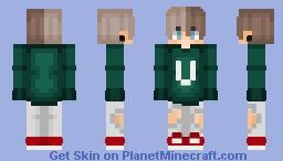 Boy Skin (Girl Ver. In Des.) Minecraft Skin