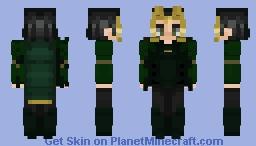 Loki (Ragnarok) Minecraft Skin