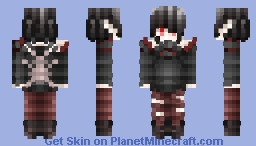 🐬I Understand Them, Why Don't You?🐬 [Skintober Day 24 2017 Spider] Minecraft Skin