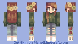 walking on memories Minecraft Skin