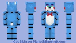 Toy Bonnie - FNaF 2 Minecraft Skin