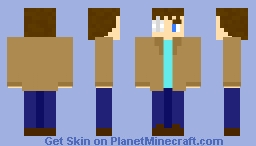 TWD (The Walking Dead) Carl Grimes (requested by Livigaard) Minecraft Skin