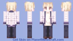 정한 (세븐틴) / 바람개비 Minecraft Skin