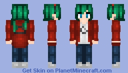 Miku - Sand Planet (100th Skin!) Minecraft Skin
