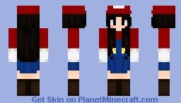Super Mario Girl Minecraft Skin