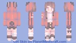 hypnotic bunny Minecraft Skin