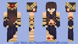 Goddess Macha Minecraft Skin