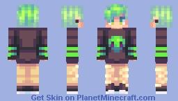aliens!!! - redone! Minecraft Skin