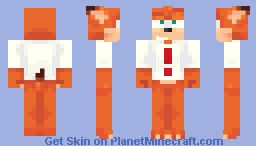 Bubsy the Bobcat Minecraft Skin