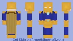 Doctor Fate (Kent Nelson) Updated Skin Minecraft Skin
